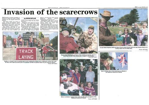 Wolferton Scarecrows
